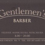 In vizita la Gentlemen's Barber