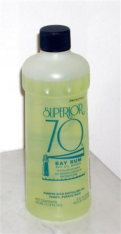 Superior 70 bay rum