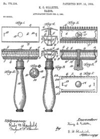 patent Gillette