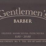 In vizita la Gentlemen's Barber